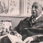 А.Ф. Иоффе на даче, 50-е годы